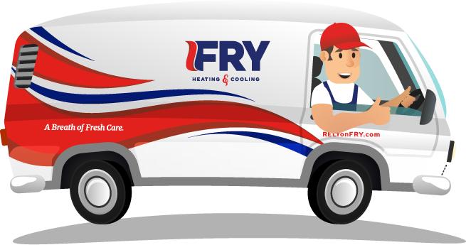 Fry HVAC Van